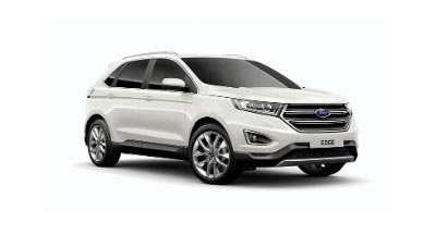 Ford Edge - Available In White Platinum