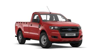 Ford Ranger - Colorado Red