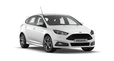 Ford Focus St - Frozen White