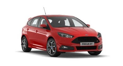 Ford Focus St - Available In Race Red