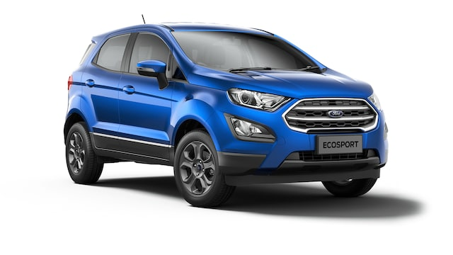 Ford New Ecosport - Available In Ruby Red
